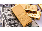 Gold stages late-session pivot to end higher as U.S. stocks tumble