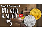 Top Ten Reasons I Buy Gold & Silver [#5] - Crashes Throughout History