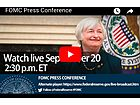 Fed leaves Rate Unchanged: FOMC Press Conference  2:30pm ET - Live