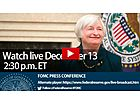 Fed Decision and Janet Yellen Press Conference – Live Blog and Video