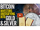This Amazing Chart Shows Bitcoin Investors Diversifying Into Gold & Silver
