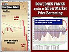 Dow Jones Tanks as Silver Market Price Bottoming