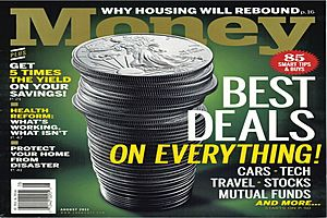 The Coming Wealth Transfer Subliminal - Money Magazine - August 2011