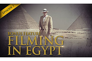 See full story: Hidden Secrets of Money Episode 1 Bonus Feature - Filming in Egypt