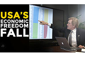 See full story: HSOM Episode 5 Bonus Feature: USA's Economic Freedom Fall