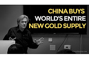 Mike Maloney Shows China Buying World's Entire Supply Of New Gold