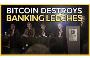 Bitcoin Destroys Banking Leeches