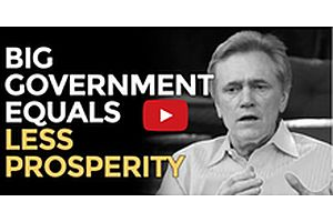 Big Government = Less Prosperity