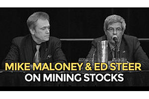 Silver Bullion Vs Silver Mining Stocks - Mike Maloney & Ed Steer