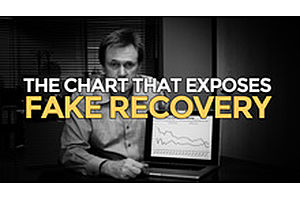 Here's The Chart That Exposes The Fake Economic Recovery