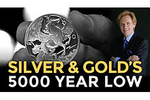 Silver & Gold At 5000 Year Low