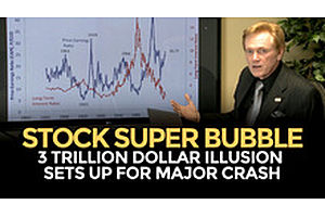 Stock Super Bubble Sets Up For Crash