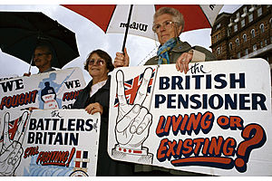 A Really Vicious Circle Is Threatening U.K. Pension Pots