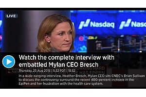 "mylan ceo: ""the us healthcare system bubble is going to burst; this is no different than the subprime crisis"""