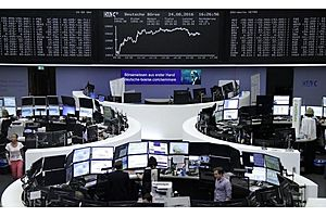 global markets set 2-week low before yellen speech, dollar dips