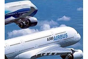 global recession alert - airbus and boeing orders plunge