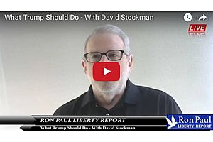 Ron Paul With David Stockman