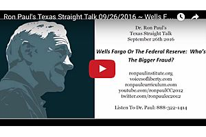 Wells Fargo Or The Fed Reserve - Who's The Bigger Fraud?