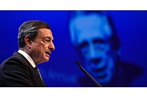 ecb's draghi says low rates for a very long time have side effects