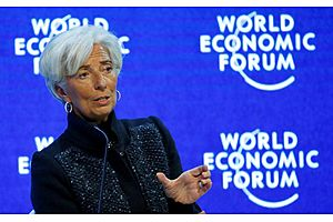 imf fears slower growth as lagarde pleads for an end to protectionism
