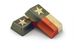 first up: a gold depository in texas. and then?