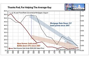 """Disturbing Facts About The Fed's Phony Housing """"Recovery"""""""