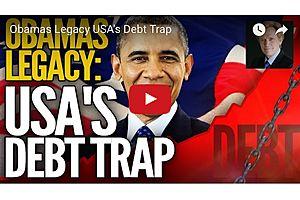 Obama's Biggest Legacy: USA's Debt Trap