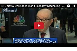 Developed World Economy Stagnating - Alan Greenspan