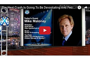 The Next Crash Is Going to Be Devastating: Mike Maloney