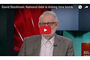 David Stockman: National debt is ticking time bomb