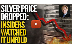 Silver Price Dropped, Insiders Watched It Unfold