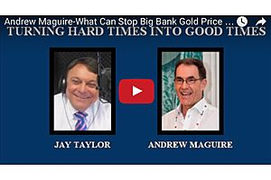 Andrew Maguire: Gives Predictions for Gold in 2017