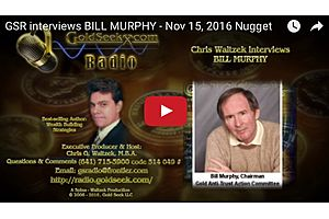 Gata's Bill Murphy Comments on the Latest Action in the Gold Market