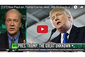 jim rickards on the trump economy and ron paul on trump & the fed