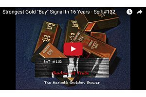 """Strongest Gold """"Buy"""" Signal In 16 Years"""