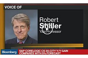 Robert Shiller: Hard to Forecast at This Time in History
