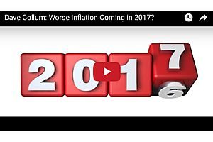 Dave Collum: Worse Inflation Coming in 2017?