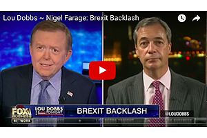 Lou Dobbs and Nigel Farage Discuss Brexit