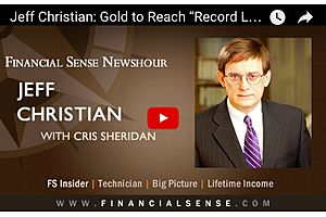 jeff christian: gold to break world records higher over next few years