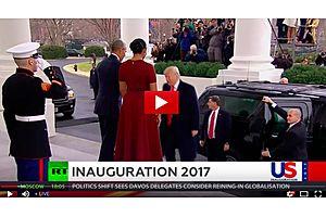 Donald Trump Inauguration -  RT News Live Stream