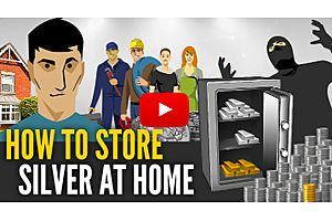 How to Store Silver Bars and Coins at Home (With Video)