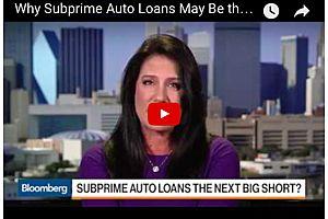 Subprime Auto - The next Big Short?
