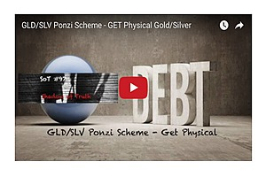 GLD/SLV Ponzi Scheme - GET Physical Gold/Silver