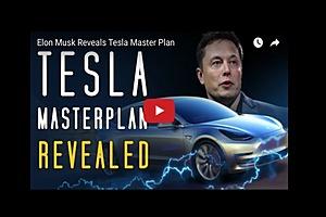 Elon Musk Reveals Tesla Master Plan
