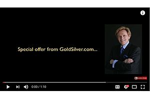 mike maloney announces special offer from goldsilver