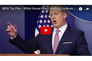 """trump's """"biggest tax cut ever"""" tax reform plan - live feed"""