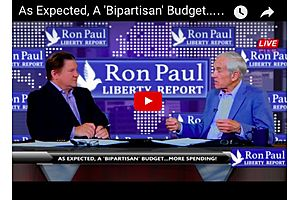 Ron Paul - More Spending as Expected