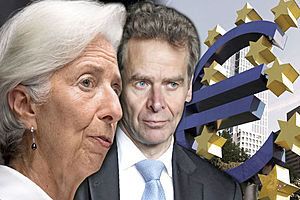 IMF 'clowns' urged to QUIT over disastrous report shaming euro-love and bailout failures