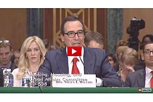 Senate Banking Committee Hearing on Trump Tax Reform: REPLAY