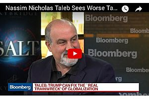 Black Swan's Taleb: There Are Worse Tail Risks Than There Were in 2007
